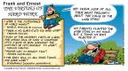 Comic Strip Bob Thaves Tom Thaves  Frank and Ernest 2001-02-18 soul