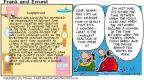 Comic Strip Bob Thaves Tom Thaves  Frank and Ernest 2001-05-27 timekeeping