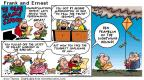 Comic Strip Bob Thaves Tom Thaves  Frank and Ernest 2001-07-01 truth