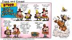 Comic Strip Bob Thaves Tom Thaves  Frank and Ernest 2001-08-19 unpredictable