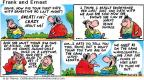 Comic Strip Bob Thaves Tom Thaves  Frank and Ernest 2001-10-28 guy