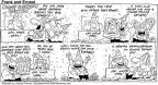 Comic Strip Bob Thaves Tom Thaves  Frank and Ernest 1992-02-16 present