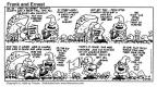 Comic Strip Bob Thaves Tom Thaves  Frank and Ernest 1994-09-18 door