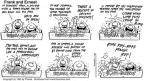 Comic Strip Bob Thaves Tom Thaves  Frank and Ernest 1995-01-29 repayment