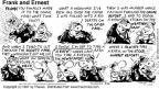 Comic Strip Bob Thaves Tom Thaves  Frank and Ernest 1997-05-04 personal