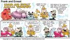 Comic Strip Bob Thaves Tom Thaves  Frank and Ernest 1998-07-26 Philadelphia