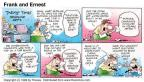 Comic Strip Bob Thaves Tom Thaves  Frank and Ernest 1998-09-13 political media