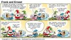Comic Strip Bob Thaves Tom Thaves  Frank and Ernest 1998-10-11 bad idea