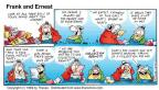 Comic Strip Bob Thaves Tom Thaves  Frank and Ernest 1999-01-03 perseverance