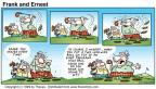 Comic Strip Bob Thaves Tom Thaves  Frank and Ernest 1999-03-14 inch