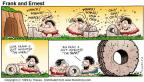 Comic Strip Bob Thaves Tom Thaves  Frank and Ernest 1999-05-02 period