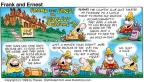 Comic Strip Bob Thaves Tom Thaves  Frank and Ernest 1999-07-04 slice