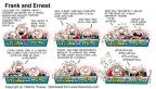 Comic Strip Bob Thaves Tom Thaves  Frank and Ernest 1999-09-12 untrue