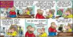 Comic Strip Bob Thaves Tom Thaves  Frank and Ernest 2012-10-28 fright