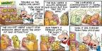 Comic Strip Bob Thaves Tom Thaves  Frank and Ernest 2013-02-10 low-fat