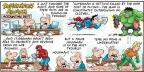 Comic Strip Bob Thaves Tom Thaves  Frank and Ernest 2013-02-17 revenue