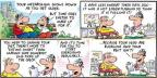 Comic Strip Bob Thaves Tom Thaves  Frank and Ernest 2013-08-11 medical bill
