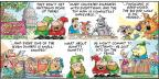 Comic Strip Bob Thaves Tom Thaves  Frank and Ernest 2013-08-25 sit