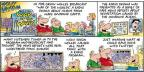 Comic Strip Bob Thaves Tom Thaves  Frank and Ernest 2014-01-05 untrue