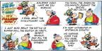 Comic Strip Bob Thaves Tom Thaves  Frank and Ernest 2014-03-09 surprise
