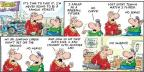 Comic Strip Bob Thaves Tom Thaves  Frank and Ernest 2014-04-20 sit