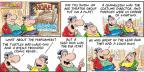 Comic Strip Bob Thaves Tom Thaves  Frank and Ernest 2014-05-18 theatrical