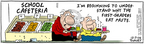 Comic Strip Bob Thaves Tom Thaves  Frank and Ernest 2006-12-07 school nutrition