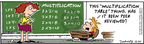 Comic Strip Bob Thaves Tom Thaves  Frank and Ernest 2006-12-30 math teacher