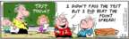Comic Strip Bob Thaves Tom Thaves  Frank and Ernest 2007-02-05 football