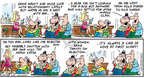 Comic Strip Bob Thaves Tom Thaves  Frank and Ernest 2007-05-20 perseverance