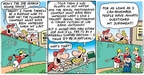 Comic Strip Bob Thaves Tom Thaves  Frank and Ernest 2007-06-03 war game
