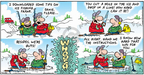 Comic Strip Bob Thaves Tom Thaves  Frank and Ernest 2008-01-06 guy