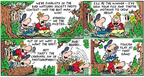Comic Strip Bob Thaves Tom Thaves  Frank and Ernest 2008-04-06 crow