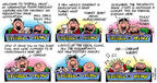 Comic Strip Bob Thaves Tom Thaves  Frank and Ernest 2002-09-29 freeze