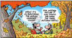 Comic Strip Bob Thaves Tom Thaves  Frank and Ernest 2002-10-06 fall autumn