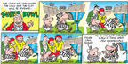 Comic Strip Bob Thaves Tom Thaves  Frank and Ernest 2003-01-26 football
