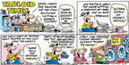 Comic Strip Bob Thaves Tom Thaves  Frank and Ernest 2003-06-15 gardening