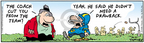 Comic Strip Bob Thaves Tom Thaves  Frank and Ernest 2006-10-21 football