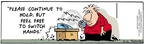 Comic Strip Bob Thaves Tom Thaves  Frank and Ernest 2006-03-10 long wait