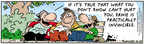 Comic Strip Bob Thaves Tom Thaves  Frank and Ernest 2006-04-13 truth