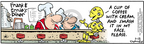 Comic Strip Bob Thaves Tom Thaves  Frank and Ernest 2006-05-18 cream