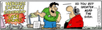 Comic Strip Bob Thaves Tom Thaves  Frank and Ernest 2006-05-20 inch