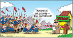 Comic Strip Bob Thaves Tom Thaves  Frank and Ernest 2006-08-13 Army officer