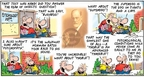 Comic Strip Bob Thaves Tom Thaves  Frank and Ernest 2007-08-19 exam test