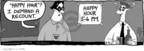 Comic Strip J.C. Duffy  Fusco Brothers 2007-08-18 happy hour