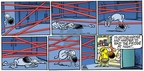 Comic Strip Mike Peters  Mother Goose and Grimm 2005-03-20 laser beam
