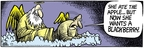 Comic Strip Mike Peters  Mother Goose and Grimm 2007-06-14 mobile device