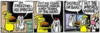 Comic Strip Mike Peters  Mother Goose and Grimm 2007-10-27 heat