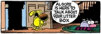 Comic Strip Mike Peters  Mother Goose and Grimm 2008-04-22 environment