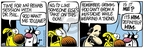 Comic Strip Mike Peters  Mother Goose and Grimm 2008-06-10 judgment